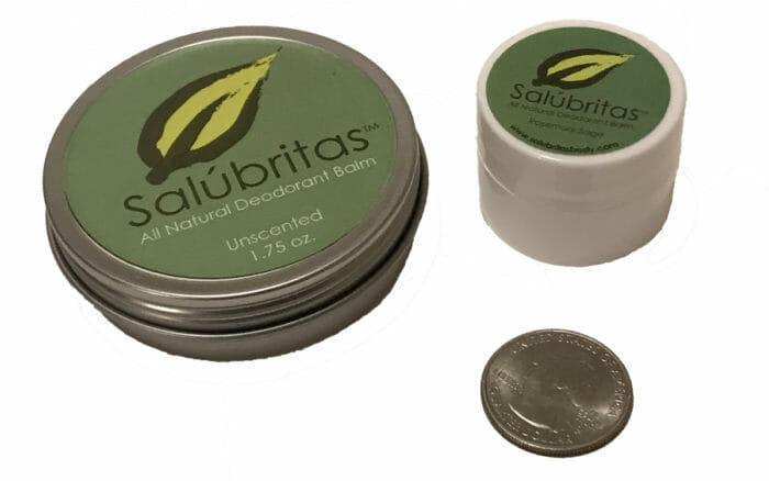 Micro Deodarants with Quarter